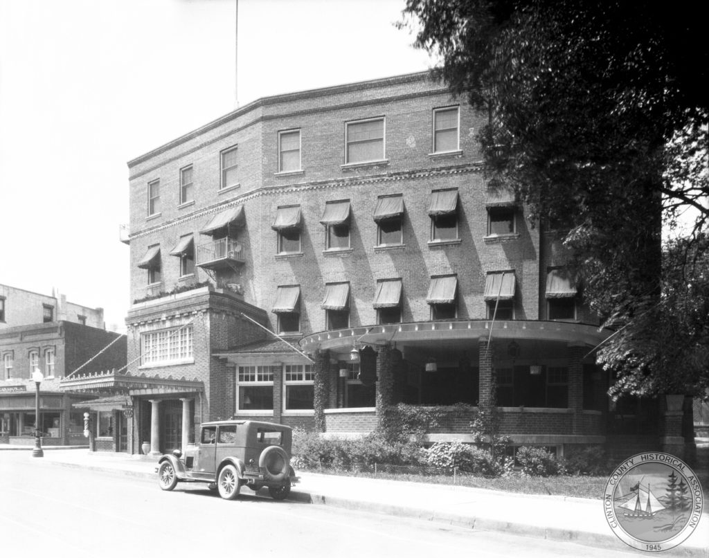 The Witherill Hotel in downtown Plattsburgh